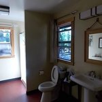 Cabin C2 bathroom
