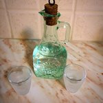We were also given a small carafe of homemade raki.
