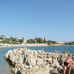 Pefkos beach - nearest to Evi Studios
