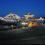 The pier at night - viewed from room 101