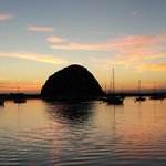 Sunset over Morro Rock