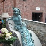 Mermaid at Client Appreciation Party