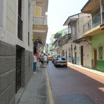 Street view of Casco Viejo