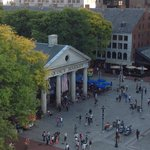 View of Faneuil Hall from the Penthouse Balcony