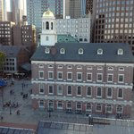 View of Faneuil Hall from the Penthouse Balcony 2