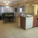 The Entire Main Room Kitchen, Dining, Living Room Areas!