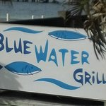 Entrance to Blue Water Grill (Awesome Food)