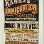 Poster luring immigrants to Kansas