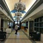 View from the entrance of the lobby at Norwood Hotel  |  112 Marion St, Winnipeg, Manitoba R2H 0