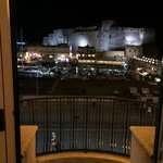 View from hotel room - castel Ovo