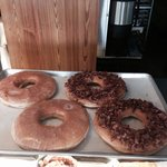 In case big donuts are your thing...these are 6 inches in diameter