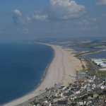 Chesil Beach from the Heights Portland