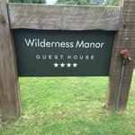 Foto de Wilderness Manor Guest House
