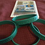 The room cards and the bracelets to go to the pool
