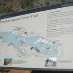 Map of Square Tower Trail