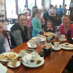 Sunday morning bootcamp post workout breakfast and chat session. Great food, cozy atmosphere and