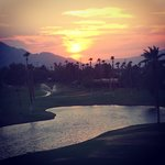 Sunsets were amazing from the rooms and pool area