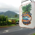 Cute cafe in Hanalei