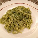 Linguine al pesto!