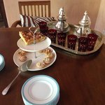Afternoon tea and cakes