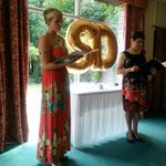 Our ceremony, in the beautiful Ashdown Suite