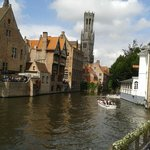 Classic view of Bruges