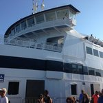 Ferry heading to Vineyard Haven, MA