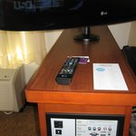 TV stand with electronic station