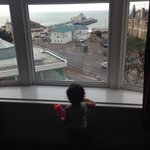 Amazing views from our stunning suite, perfect height for nosey toddlers and kept ours amused th