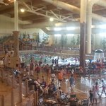 indoor park (wave pool, lazy river, water rides)