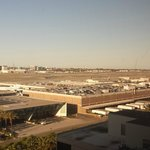 View of LAX from room