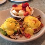 Three Versions of Eggs Benedict, All A Treat