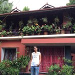 Standing before Mary aunt's home��