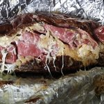 Reuben sandwich. So messy and delicious!