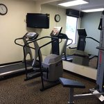 workout room/equipment