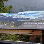 sign explaining the Bow valley sights