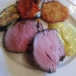 The finale of Sunday Gala dinner- Chateaubriand - perfection!
