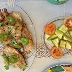 Awesome fish filets - Nice seasonning - Fresh peppers