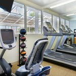 Brand new PreCor Equipment in a comfortable, clean fitness room