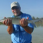 Bone Fish caught on the flats at Kamalame  Cay July 26th 2014