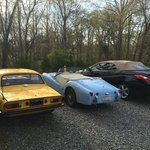 3 convertibles for an April weekend in NC foothills