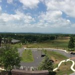 Panoramic shot of the battlefield from atop the cupola