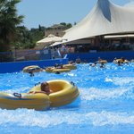 Wave pool (in hotel not the waterpark)