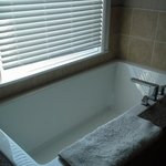 Jason Air Masseur soaker tub in the studio suite