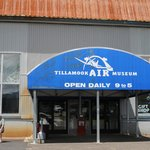 The Tillamook Air Museum is open from 9-5 daily