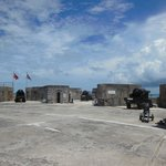 The Parade Ground of the Fort is actually quite expansive