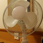 Air conditioning not working...  So this amazing fan is been placed in the room prior to arrival