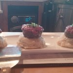 mini meatloaf cupcakes w/mashed potatoes