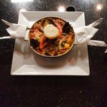 Our Specialty, Seafood Paella!