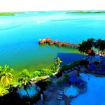 View from the room over Sanibel Harbor